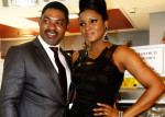 Omotola Jalade-Ekeinde is currently trending on Nigerian interwebs following her revelation that her husband, Captain Matthew Ekeinde, goes to the market on her behalf PHOTO/COURTESY