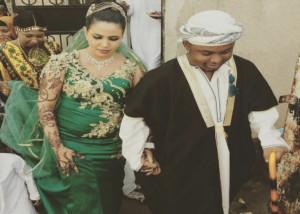Mr. Blue and wife Waheeda. PHOTO: Bongo 5