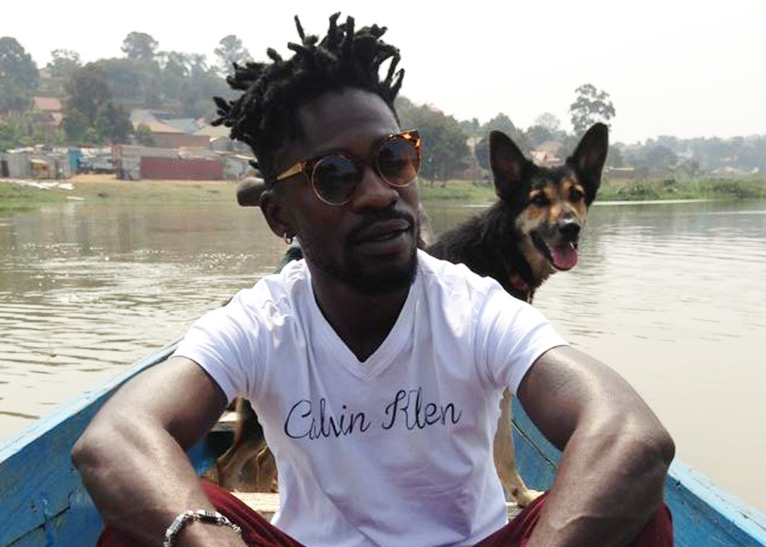 Ugandan musician-turned-politician Bobi Wine asked his bank to return Ksh820, 000 which, he says, was credited to his bank account by Uganda's Parliamentary Commission without his knowledge [PHOTO | COURTESY]