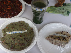 Traditional food of the Embu community displayed at the cultural exhibition at Vihiga Municipal Grounds PHOTO/BRIAN OKOTH
