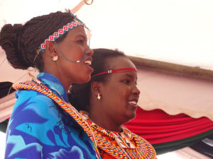 Samburu dancers on stage at Vihiga Municipal Grounds PHOTO/BRIAN OKOTH