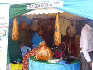 The Nandi community displays the sotet (milk guard) among other cultural items PHOTO/BRIAN OKOTH