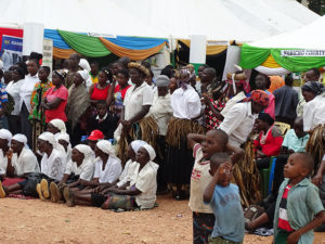 The cultural exhibition at Vihiga Municipal Grounds was well-attended PHOTO/BRIAN OKOTH