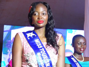 Miss Tourism Mombasa County bagged herself Miss Congeniality award PHOTO/BRIAN OKOTH