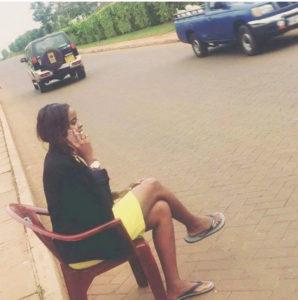 "Media personality Amina Abdi performs ""Museveni Challenge"" PHOTO/COURTESY"