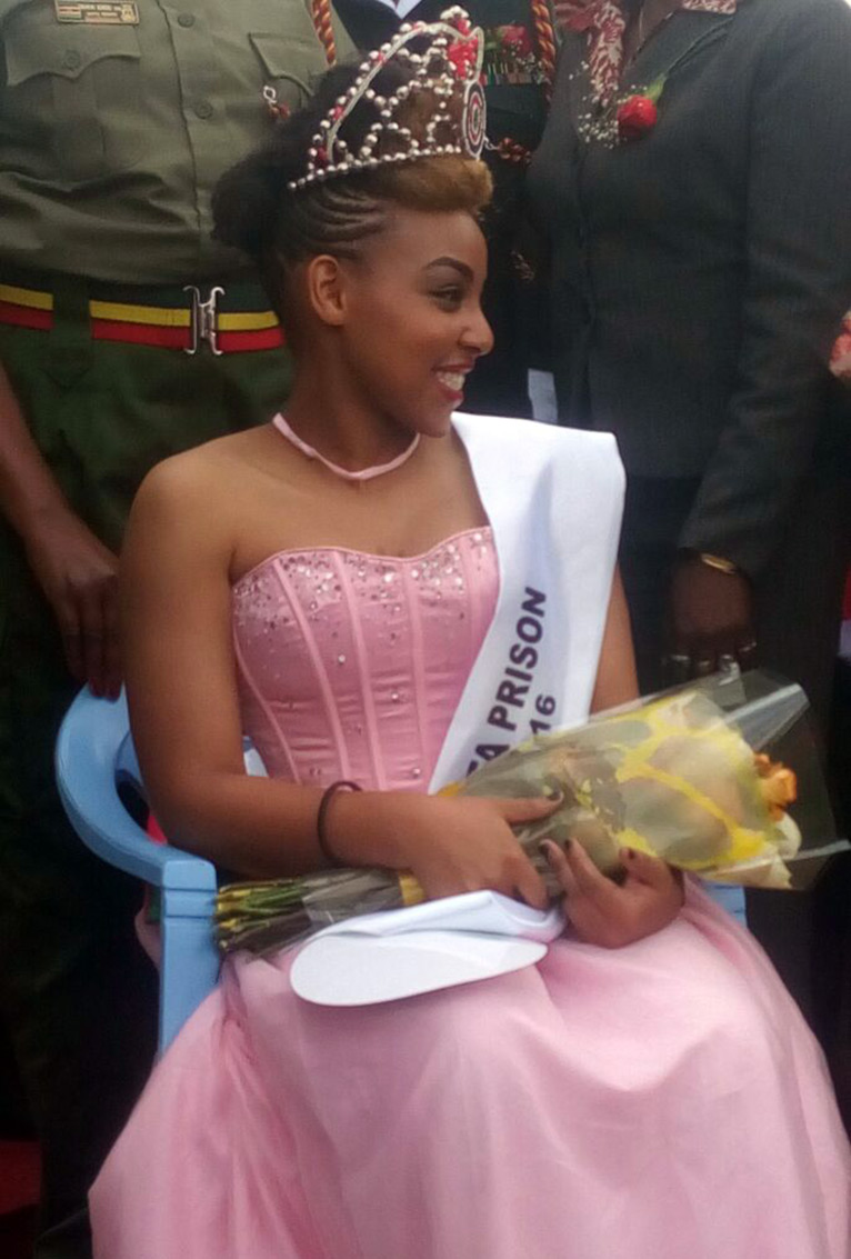 Ruth Wanjiru Kamande was crowned Miss Lang'ata Women's Prison on August 31 PHOTO/COURTESY