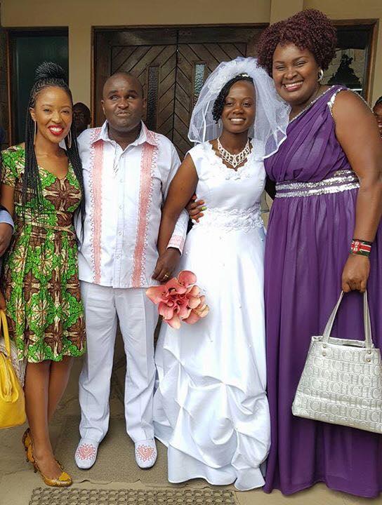 Denno and Naliaka wedding/ photo courtesy/ Facebook