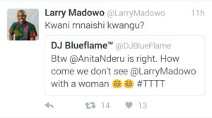 Larry Madowo silences critics