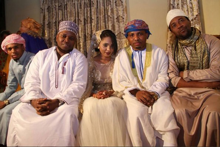 From left: Madee, Tundaman and his wife Sabrah, Kassim Mganga and Dogo Janja [PHOTO/COURTESY]