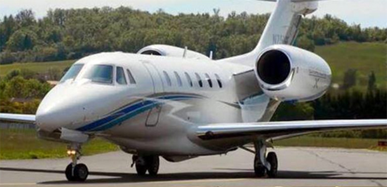 The Cessna Citation X is an American long-range medium-sized business jet aircraft [PHOTO/COURTESY]