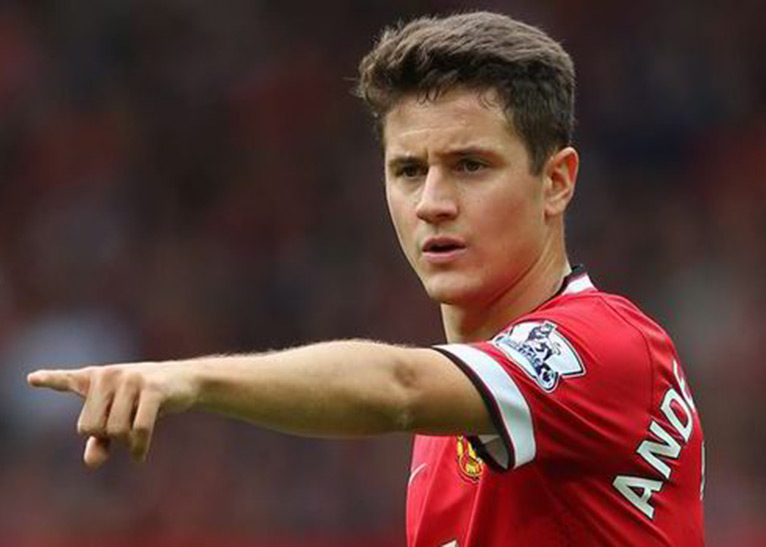 Ander Herrera began his career at Real Zaragoza before moving to Athletic Bilbao in 2011, and then to Manchester United for €36 million (KSh3.9 billion) in 2014 [PHOTO/DAILY EXPRESS]