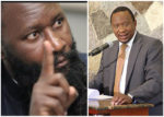 DAVID OWUOR AND UHURU KENYATTA [PHOTO/COURTESY]