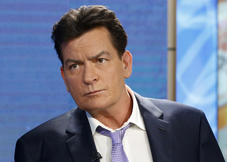 United States actor Charlie Sheen [Photo/Today]