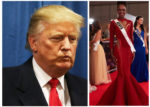 TRUMP AND MISS UNIVERSE KENYA [PHOTO/COURTESY]