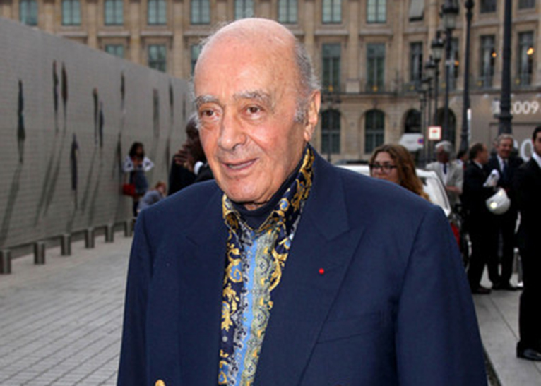 Mohamed Al Fayed [PHOTO|COURTESY]