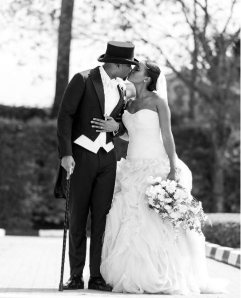 I will now kiss my bride - Paul seals marriage to bride Evalyne with a kiss