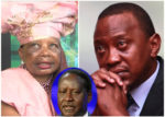 PRESIDENT UHURU KENYATTA, RAILA ODINGA AND ORIE ROGO MANDULI [PHOTO | COURTESY]