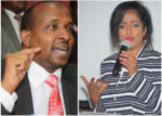 NATIONAL ASSEMBLY MAJORITY LEADER ADEN DUALE AND NAIROBI WOMAN REPRESENTATIVE ESTHER PASSARIS [PHOTO | COURTESY]