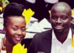 ANNE KANSIIME (L) WITH HER HUSBAND GERALD OJOK (R) [PHOTO | COURTESY]