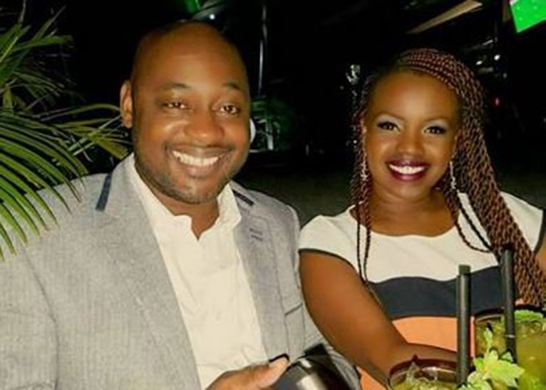 In June, 2017 online entertainment outlets in Kenya were rife with reports of Amani's secret wedding to Nigerian businessman Chinasa Udeala. [PHOTO/COURTESY]