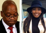 FORMER SOUTH AFRICA PRESIDENT JACOB ZUMA (L) AND HIS FIANCEE NONKANYISO CONCO [PHOTO | COURTESY]