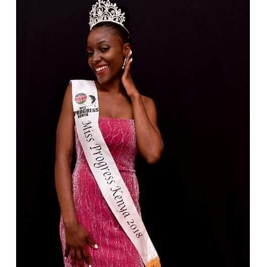 Miss Progress Kenya Audrey Awuor Rendo. PHOTO/COURTESY