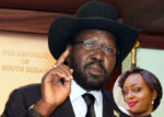 SOUTH SUDAN PRESIDENT SALVA KIIR AND MONICA KIMANI (INSET) [PHOTO | COURTESY]