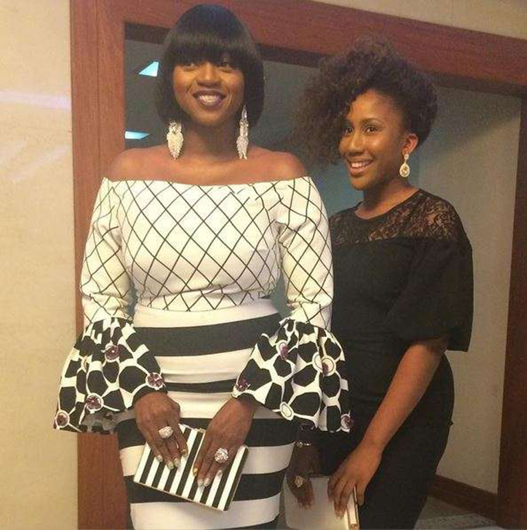 Musician Waje with her 19-year-old daughter Emerald Iruobe. [PHOTO | COURTESY]