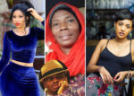 KIM NANA (L), SANURA KASSIM (C), TANASHA OKETCH (R) AND DIAMOND PLATNUMZ (INSET) [PHOTO | EDAILY]