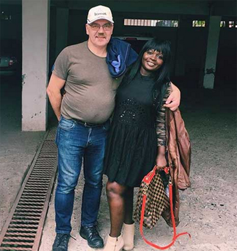 The picture which left a section of the media speculating that Nyota Ndogo is pregnant. [PHOTO | COURTESY]