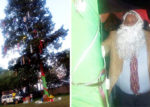 Kiambu Governor Ferdinand Waititu launching Christmas tree in Kiambu on Tuesday December 11. [PHOTO | COURTESY]