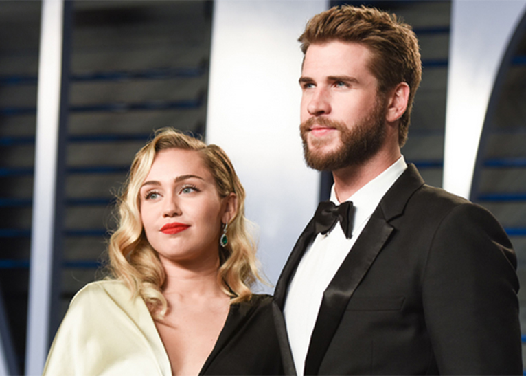 Miley Cyrus and Liam Hemsworth. [PHOTO | COURTESY]