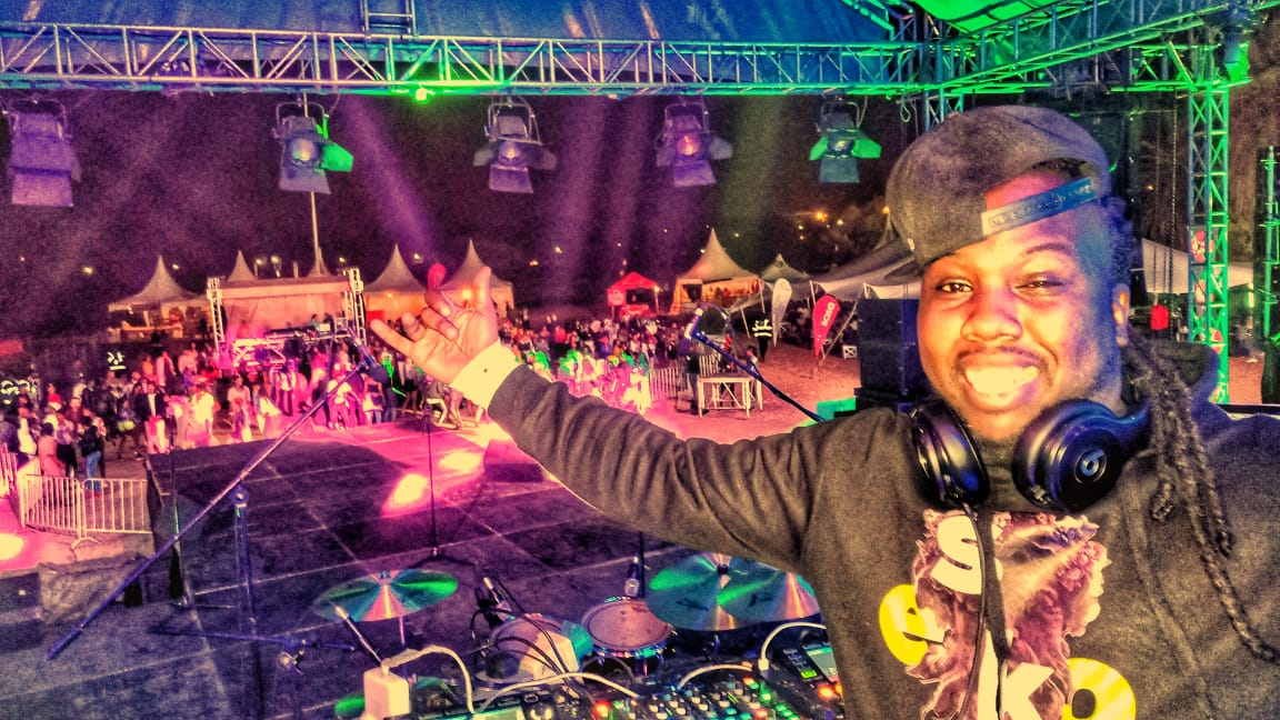 DJ Roy Teeboy thrills the crowd at the Festival of Love concert.