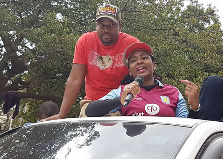 Ms Zoraima was at the forefront campaigning for her husband in the run-up to August 8, 2017 general election. [PHOTO | COURTESY]