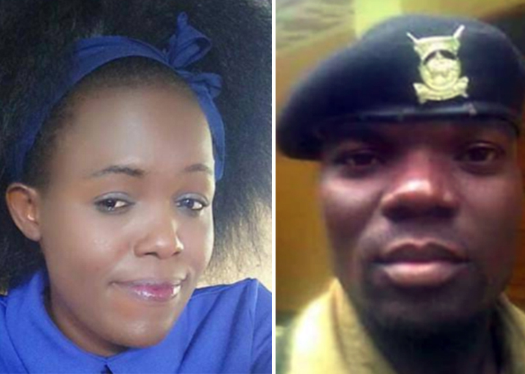 AP OFFICER NYAPARA AND CHRISTINE MAONGA [PHOTO | FILE]