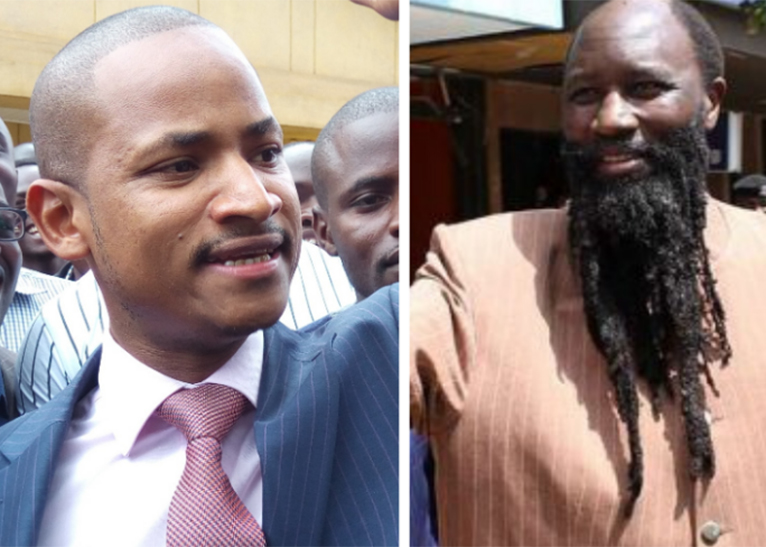 BABU OWINO (L) AND PROPHET DAVID OWUOR (R) [PHOTO | COURTESY]