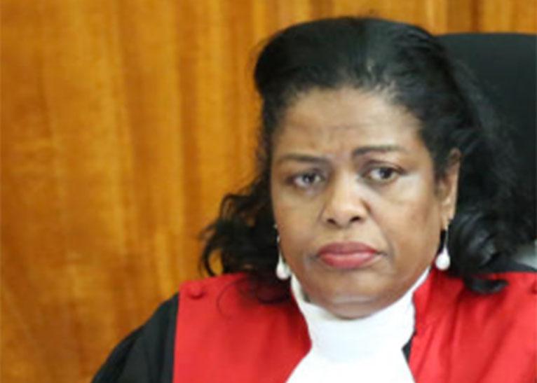 SUPREME COURT JUDGE NJOKI NDUNG'U [PHOTO   COURTESY]