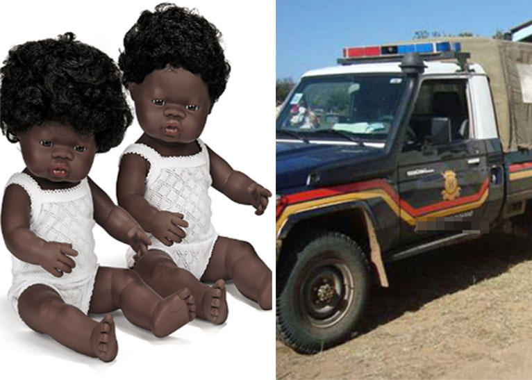 COUPLE BURIES BABY DOLLS IN HOMA BAY. [PHOTO   COURTESY]