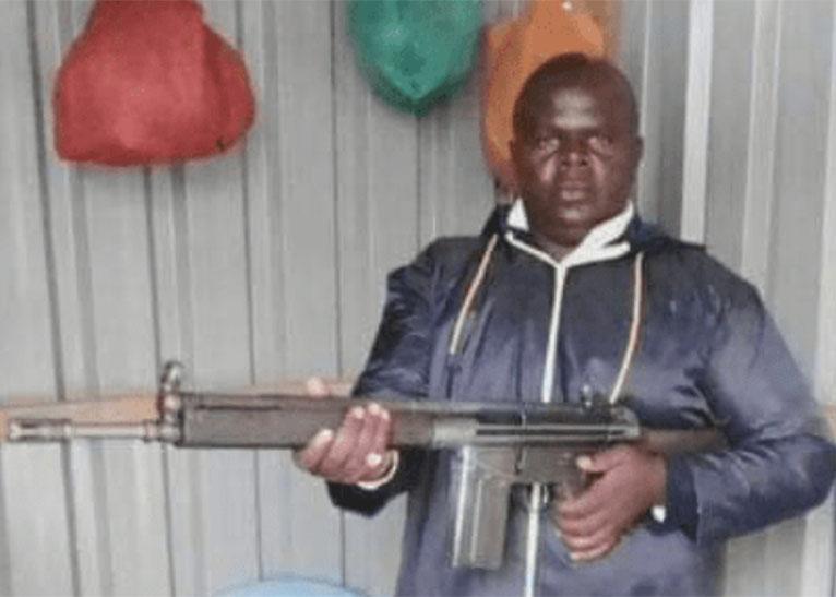 Man who posed with G3 rifle in Kirinyaga [PHOTO | EDAILY]