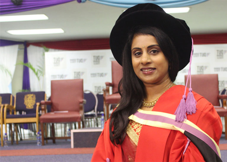 MASTER'S STUDENT GHANESHREE MOONSAMY [PHOTO | COURTESY]