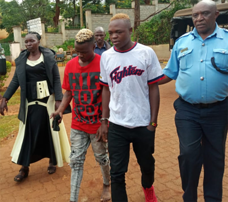 The suspects will be detained at Murang'a Police Station for 14 days, beginning Friday, May 17. [PHOTO | EDAILY]