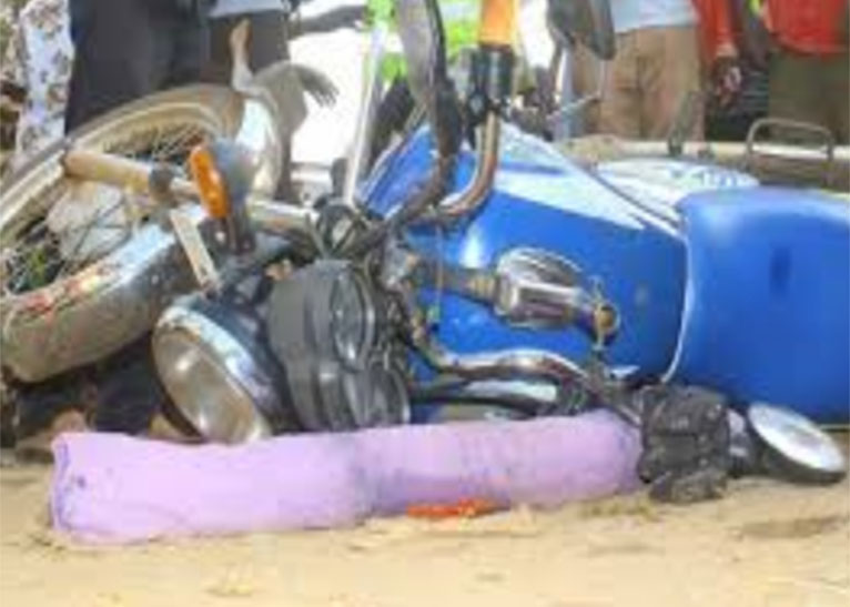 PASTOR JUMPS OFF MOVING MOTORBIKE IN BUSIA [PHOTO | COURTESY]