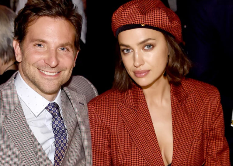 BRADLEY COOPER (L) WITH HIS EX-LOVER IRINA SHAYK (R). [PHOTO | COURTESY]