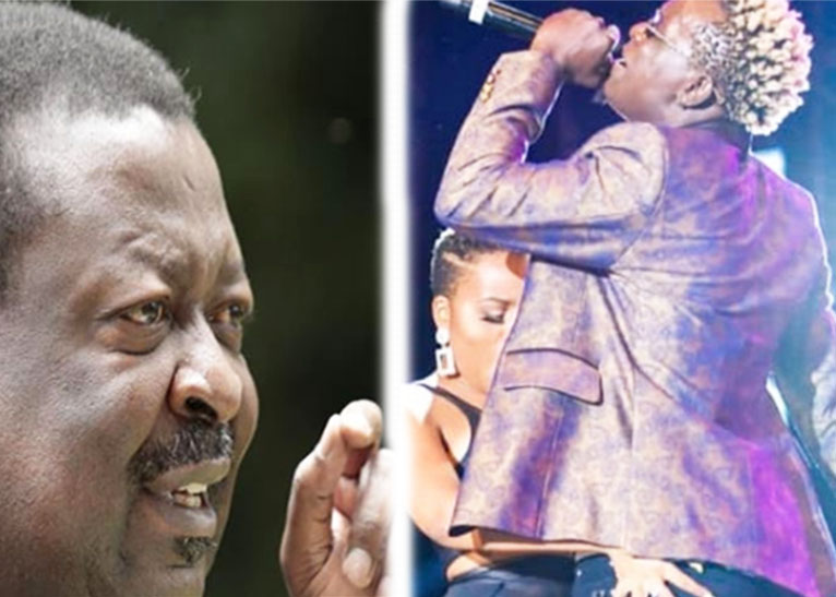 MUSALIA MUDAVADI (L) NANDY AND WILLY PAUL (R) [PHOTO | COURTESY]