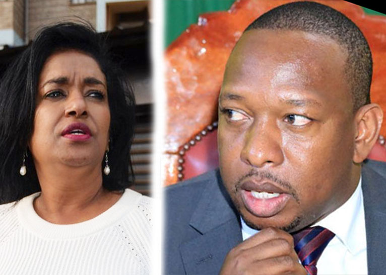 ESTHER PASSARIS (L) AND MIKE SONKO (R) [PHOTO | COURTESY]