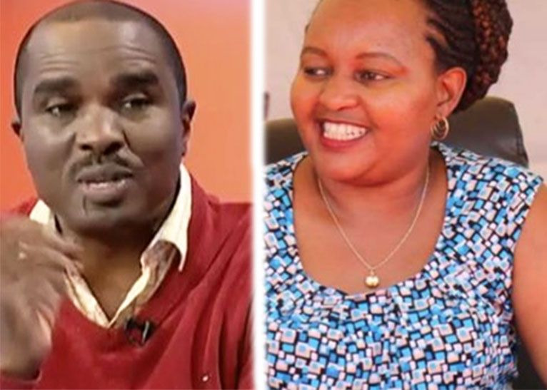 KAMOTHO WAIGANJO (L) AND ANNE WAIGURU (R) [PHOTO | COURTESY]